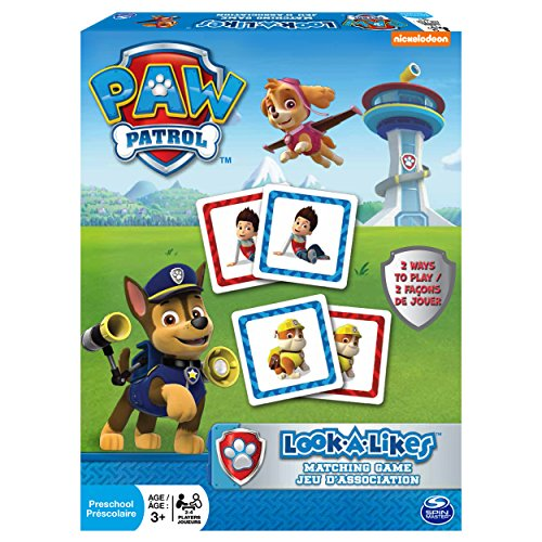 Paw Patrol Memory Spiel 72 Karten [UK Import] (Memory Match-karten)
