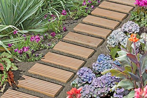 Piastrelle In Legno Florabest : Piastrelle in legno per giardino affordable piastrelle in legno
