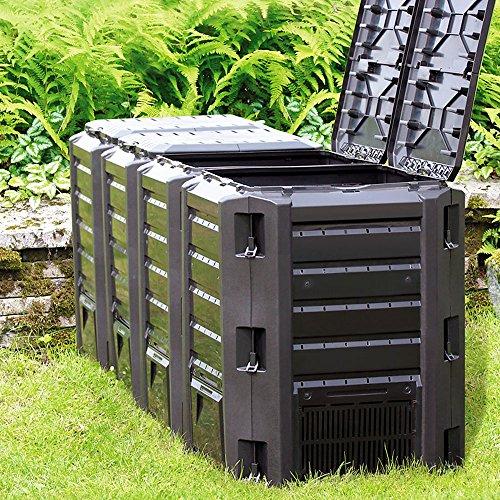 Zoom IMG-4 deuba compostiera da giardino 800l