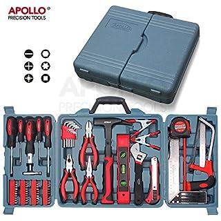 Apollo 71-teiliges Haushaltswerkzeugset inklusive der gebräuchlichsten Handwerkzeuge - in Aufbewahrungsbox