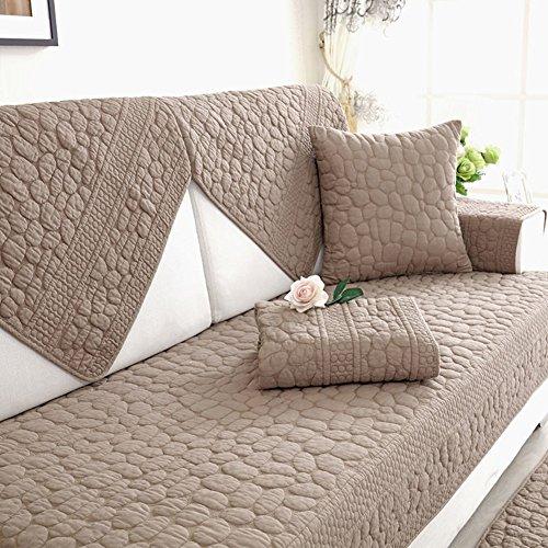 Xianw copridivano reversibile,divano letto copertine per divano,coperture del sofà per il salone,divano copre per cani,coprisofà,couch protector-e 110x240cm(43x94inch)
