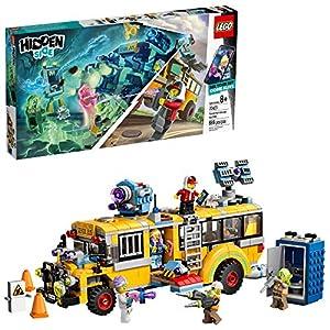 LEGO Hidden Side 70423 – Scuolabus di intercettazione paranormale 3000, Set di Costruzione Fantasma (689 Pezzo) 0673419301312 LEGO
