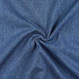 Fabulous Fabrics Pure Denim - Jeansblau - Meterware ab 0,5m