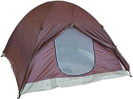 FreeCamp LT130 3 Kişilik Kamp Çadırı, Unisex, Açık Yeşil, 3 Kişilik