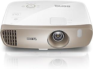 BenQ W2000 3D Heimkino DLP-Projektor (Full HD Beamer, 1920x1080 Pixel, Cinematic Color REC. 709, 2.000 Ansi Lumen, Kontrast 15.000:1) weiß