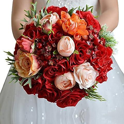 Nines Costumes - JHDH2-Korean mariée Fleur Simulation Studio Photo de