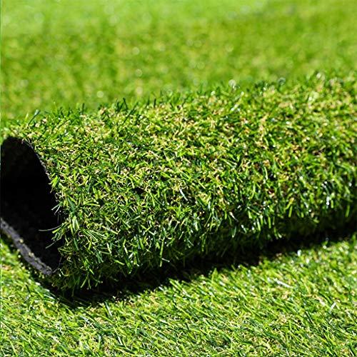 2 m Kunstrasen-Kunstrasen aus Kunststoff, 2 Stück, 30 mm hoch, künstlicher Rasen, billig, natürlich und realistisch aussehender Astro-Gartenrasen, gefälschter Rasen mit hoher Dichte ( Size : 2mx1.5m )