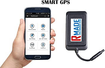 RMADE Smart GPS Tracker/Bike GPS with My Vehicles Android & iOS App/Vehicle Start-Stop/Anti-Theft etc.
