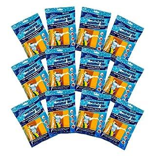 Luftentfeuchter, zum Aufhängen, Packung mit 3, 6 oder 12 Stück 12er-Pack