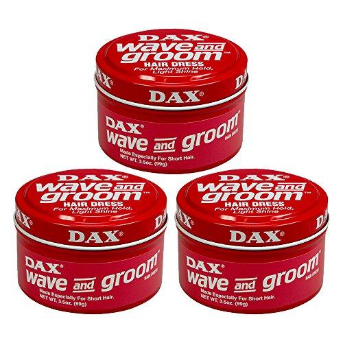 DAX Wax Wave and Groom Haarwachs 3x 99 g