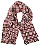 PIECES Damen Schal Pcrahata Scarf, Gr. One size, Mehrfarbig (Navy Blazer/Red/White/Blue)