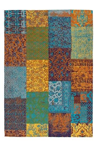 Lalee Teppich Wohnzimmer Carpet modernes Design Patchwork Rug Symphony 160 Multi Chenille 160x230cm | Teppiche günstig online kaufen -