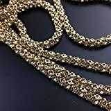 Meet The World 6mm Golden Decorative Chain