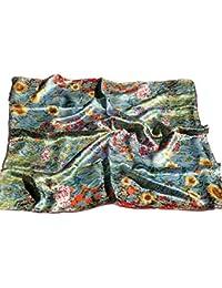 Prettystern - 90cm Art Nouveau Arte paño pintura impresión hecha de 100% satén de seda - Gustav Klimt - diferentes motivos