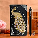 Locaa(TM) For Acer Liquid Z330 Z320 3D Bling Pfau Case +