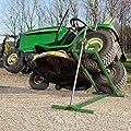 Heber für Rasentraktoren BTH400 XXL Hebebühne für Aufsitzmäher, Rasenmäher, ATV