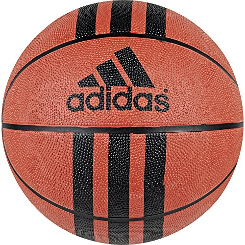 Adidas 3 Stripe Ballon de basket, 3 Stripe D 29.5, Orange / Noir, 5