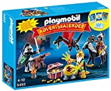 PLAYMOBIL - Calendario de Adviento Batalla del Tesoro del Dragón, Color Multicolor (5493)