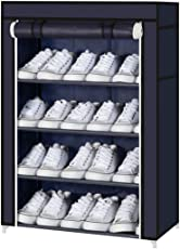 Parasnath 4-5 Layer Utility Rack Cloth Cabinet/Shoe Rack Organiser, Colour - Random Colour (Diwali Sale Offer Made in India)