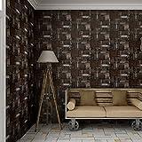 Industrie Architektur Dose Trunk Patch Muster 3D Pr?gung Tapete ¨C 33 '(10 Mio.), Rolle, die ganz, braun