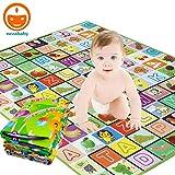 Sasimo Waterproof Double Side Baby Play Crawl Floor Mat for Kids Picnic School