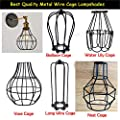 New Edison Iron Vintage Ceiling Light Fitting Lamp Bulb Cage Bar Cafe Lampshade from LEDSone
