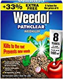 Weedol Pathclear Weedkiller Liquid Concentrate, 6 Plus 2 Tubes Free