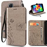 Best Coque Galaxy S5 - Coque Samsung Galaxy S5/S5 NEO Etui Cuir Galaxy Review