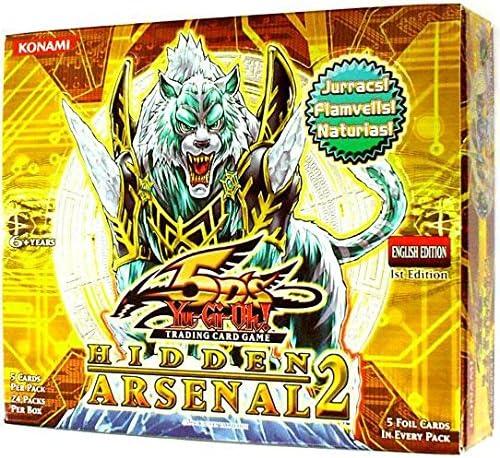 YuGiOh 5Ds Hidden Arsenal 2 Booster Box 24 Packs Packs Packs [Toy] (japan import) | La Plus Grande En Matière De Commodité  637d08