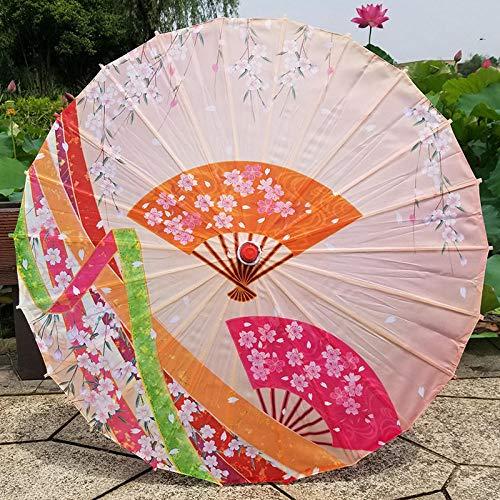 Brautaccessoires Seidentuch Spitze Regenschirm Frauen Kostüm Fotografie Requisiten Quastenschirm Garn Chinesische Klassische Öl-Papier Regenschirm - Kulturelle Kostüm Frauen