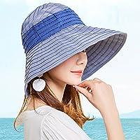 LBY Nuevo Sombrero De Sol Extranjero Femenino Versión Coreana De La Protección Solar Salvaje De La Cubierta del Sombrero del Sol del Verano del Recorrido Sombreros de Sol