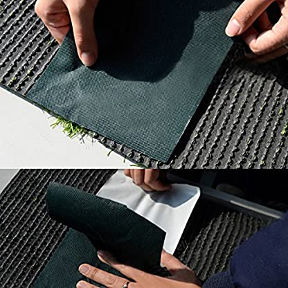 ALLOMN Artificial Grass Tape Adhesive Seaming Tapes for Jointing Fake Grass Fixing Turf Lawn Carpet Self Adhesive Lawn… 2