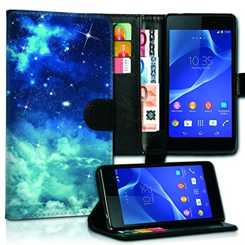Wallet Book Style Flip Handy Tasche Case Schutz Hülle Schale Motiv Etui für Apple iPhone 4 / 4S - Variante UMV10 Design12 Design 8
