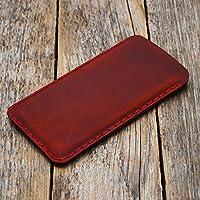 Rosso caso in pelle custodia per Samsung Galaxy S9, S8 cover case