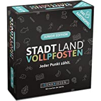 DENKRIESEN - Stadt Land VOLLPFOSTEN - Das Kartenspiel - Junior Edition   Wichtelgeschenk   Stadt Land Fluss Kinderspiel…