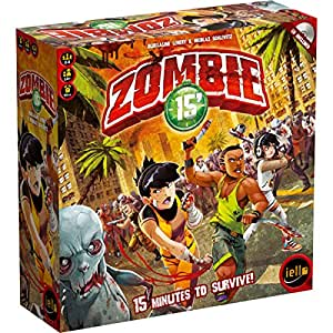 Iello zombie gioco da tavolo veloce durata 15 min - Zombie side gioco da tavolo ...