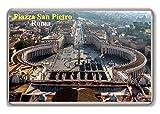 Roma/Italy/Piazza San Pietro/fridge/magnet. - Calamita da frigo
