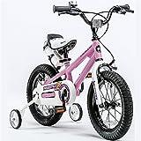 Bicyclehx Bewegung Offroad Kinder Fahrrad mit Wasserflasche und Halter Royal Baby Kids Bikes mit Stabilisatoren in Größe 12