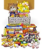 Retro Sweets Mega Gift Box: Jam Packed With Over 60 of the Best Retro Sweets. Perfect Birthday Gift, Get Well Soon, Congratulations or Anniversary Present Ideas For Him and Her: Boys & Girls, Mums & Dads, Men & Women Of All Ages.