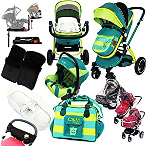 i-Safe Complete Trio Travel System Pram & Luxury Stroller - Lil Friend   4