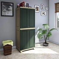 Nilkamal Freedom Big 1 (FB 1) Plastic Storage Cabinet (Olive Green & Pista Green)