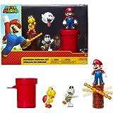 Jakks Pacific Dungeon Diorama Set, 6 cm Super Mario – Set de Figuras Muno Dungeon färgglad