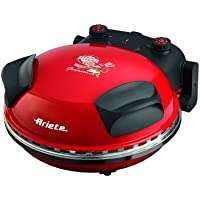 Ariete 905 1pizza(s) 1200W Rojo fabricante de pizza y hornos - Horno para pizzas (1 Pizza(s), 33 cm, 5 °C, 30 h, Rojo, Piedra)