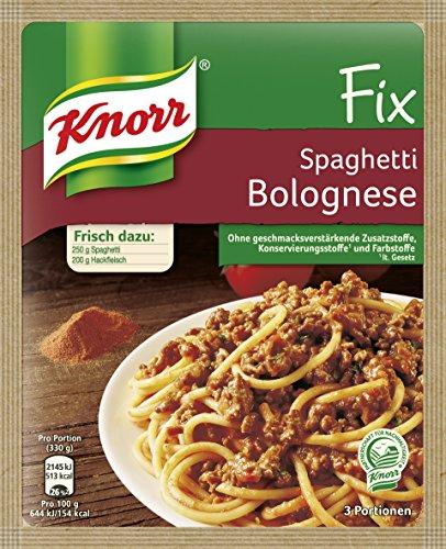 Knorr Fix Spaghetti Bolognese 42g Beutel, 13er Pack (13 x 42 g)