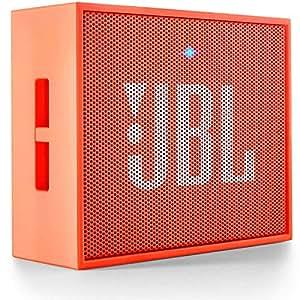 JBL GO JBLGOORG Portable Wireless Bluetooth Speaker with Mic (Orange)
