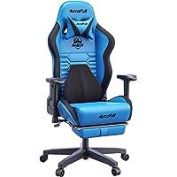 AutoFull Gaming Stuhl Bürostuhl Gamer Ergonomischer Schreibtischstuhl PC-Stuhl mit hoher Rückenlehne und…