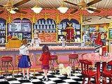 SunsOut 38793 - Burgess: Ice cream parlor - puzzle 300 pezzi immagine