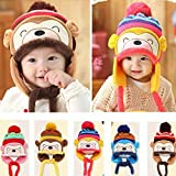 #2: Krystle Knit Beanie Cap for Baby, Misaky Winter Warm Kids Boy Warm Hat (Pack Of 1)