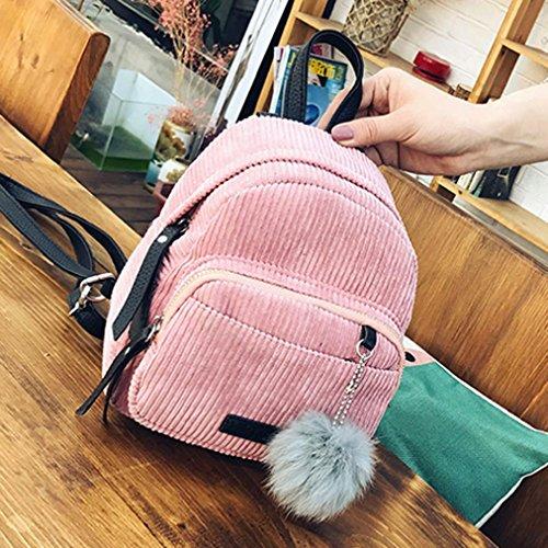 Imagen de goodsatar mujer cuero de la pu   bolso de viaje rosa  alternativa