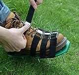 Gkangu Aérateur de gazon Jardin Chaussures à pointes Sandales